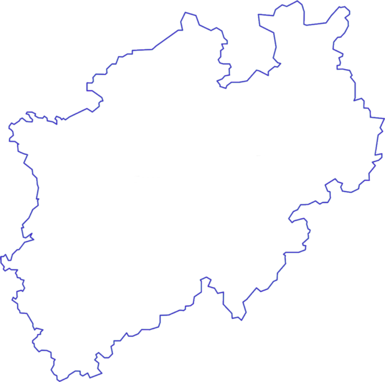 Westarn Germany Map